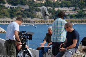 Filming and interview in France