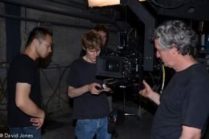 Filming in Canada
