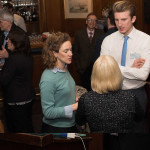 Tom Arden at the launch along with Lucy Holmes from HRH The Prince of Wales's International Sustainability Unit