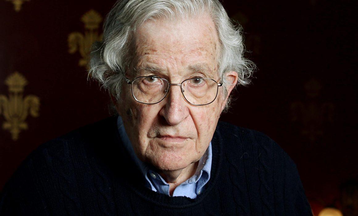Noam Chomsky endorses the Plastic Oceans Foundation