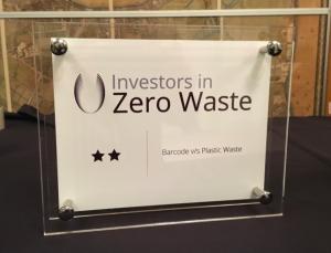 Clara Salina wins award from Zero Waste UK