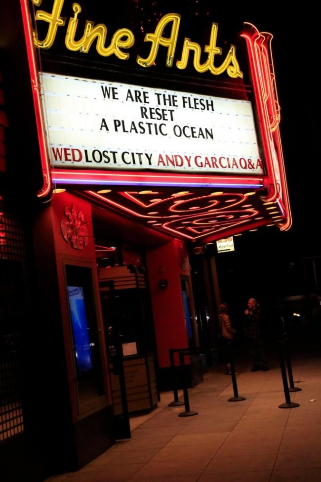 The LA premiere of A Plastic Ocean.