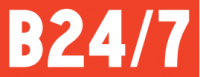 B24/7 logo