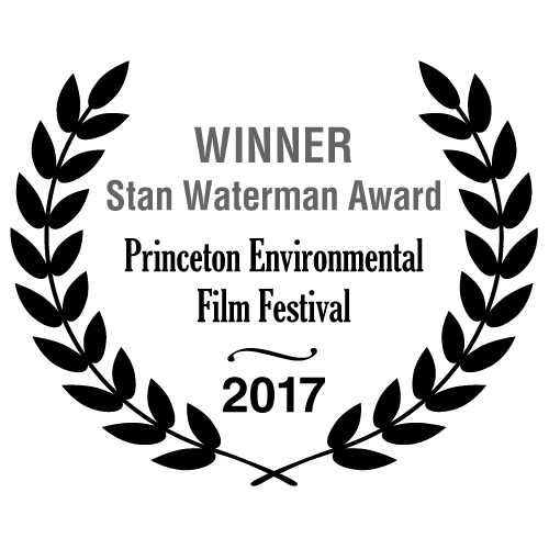 Winner Stan Waterman Award - Princeton Environmental Film Festival 2017