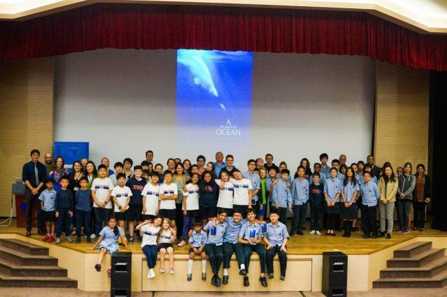 Chung International School in Shanghai.