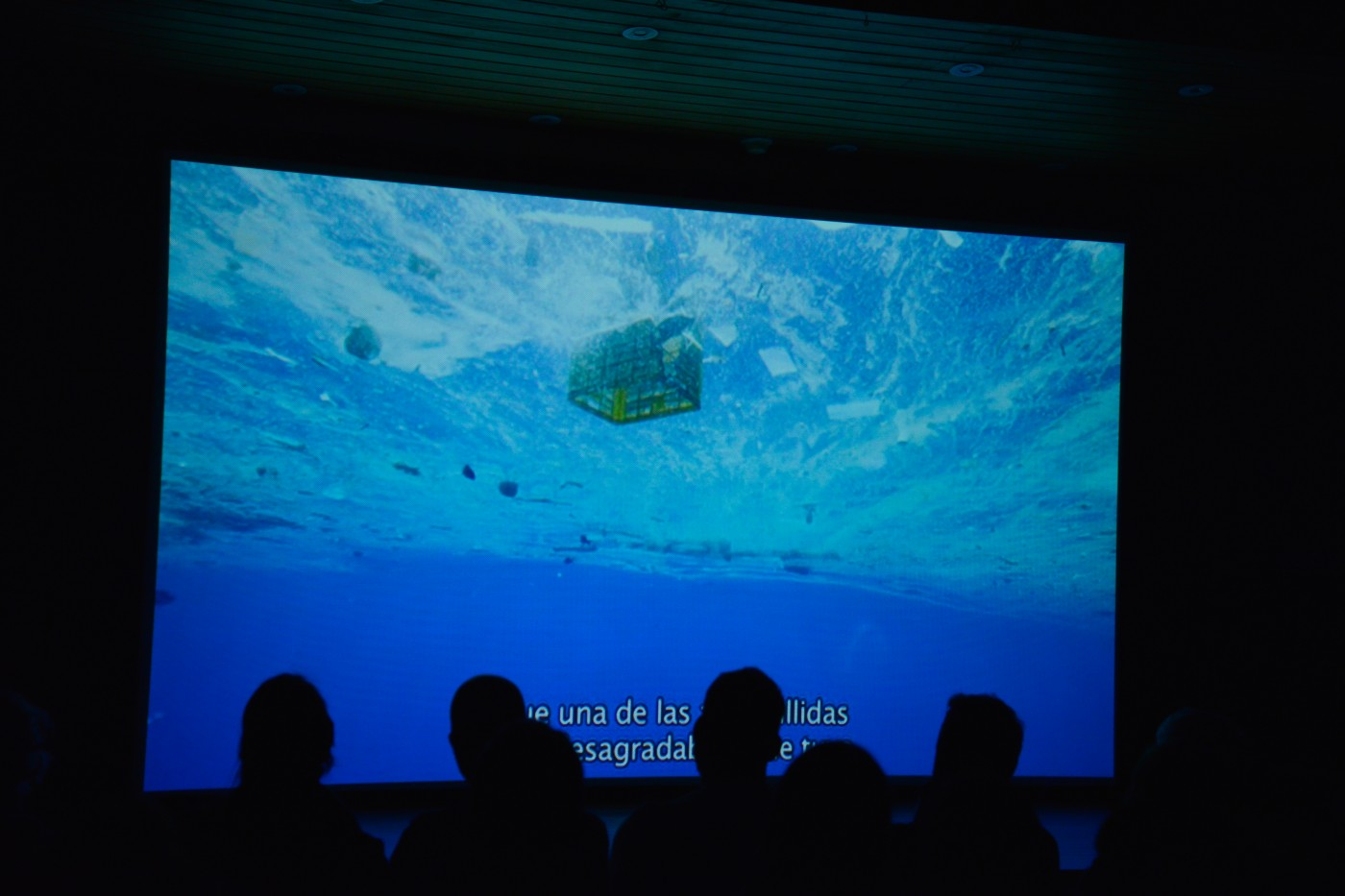 A Plastic Ocean screening in Chile