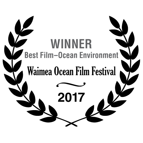 Winner Best Film Ocean Environment - Waimea Ocean Film Festival 2017